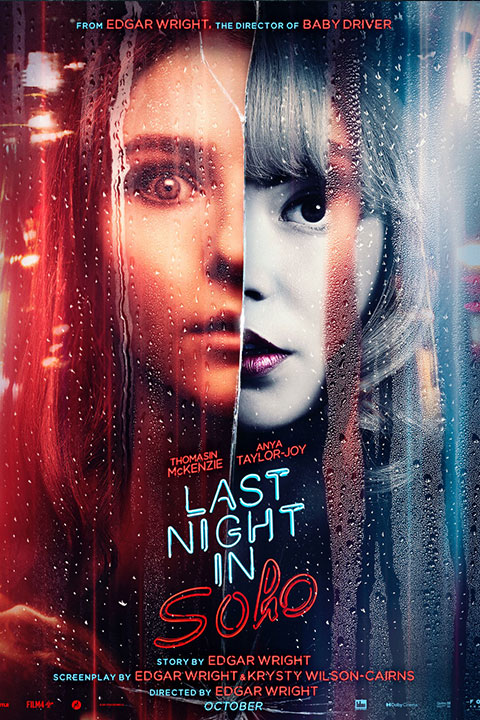 Last Night in Soho (2021) - Official Poster