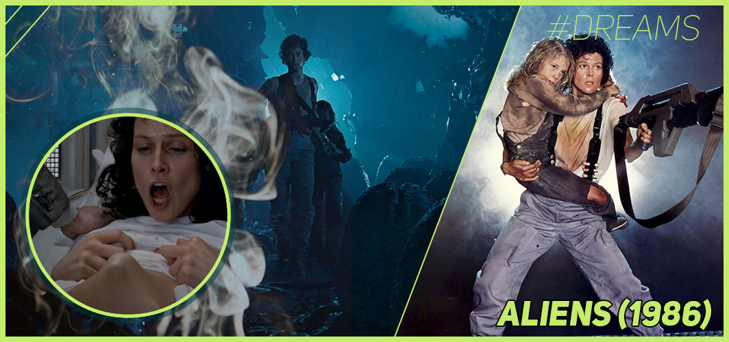 Aliens (1986) - 20 of the Most Terrifying Horror Movie Dream Sequences - Horror Land