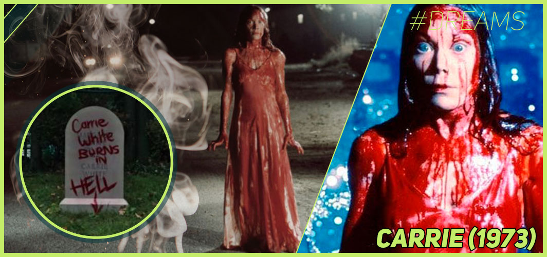 Carrie (1973) - 20 of the Most Terrifying Horror Movie Dream Sequences - Horror Land