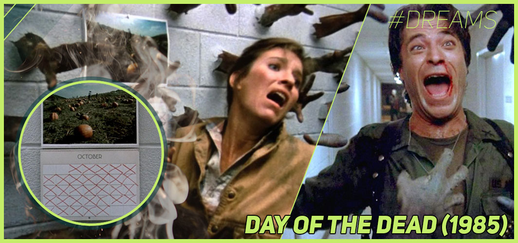 Day of the Dead (1985) - 20 of the Most Terrifying Horror Movie Dream Sequences - Horror Land