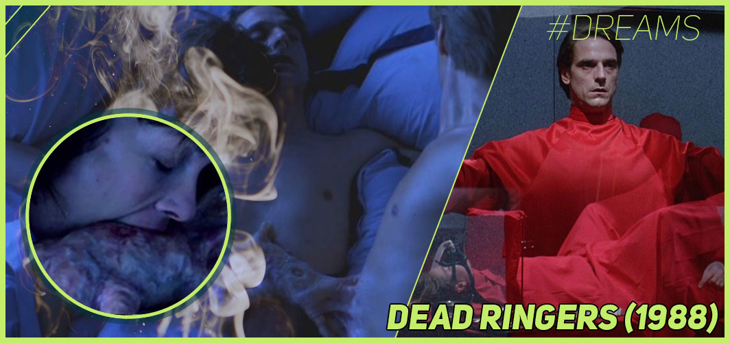 Dead Ringers (1988) - 20 of the Most Terrifying Horror Movie Dream Sequences - Horror Land