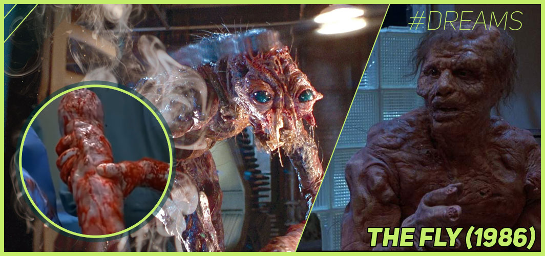 The Fly (1986) - 20 of the Most Terrifying Horror Movie Dream Sequences - Horror Land