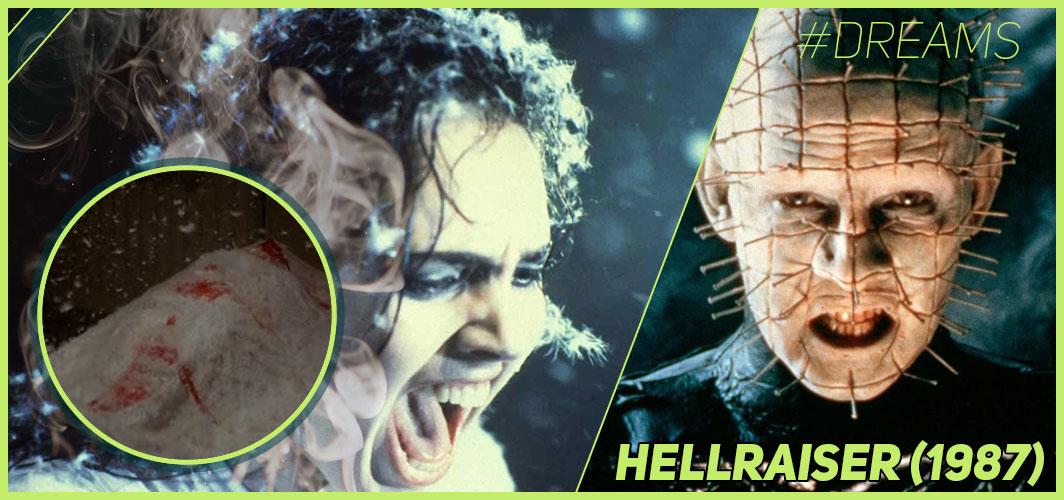 Hellraiser (1987) - 20 of the Most Terrifying Horror Movie Dream Sequences - Horror Land