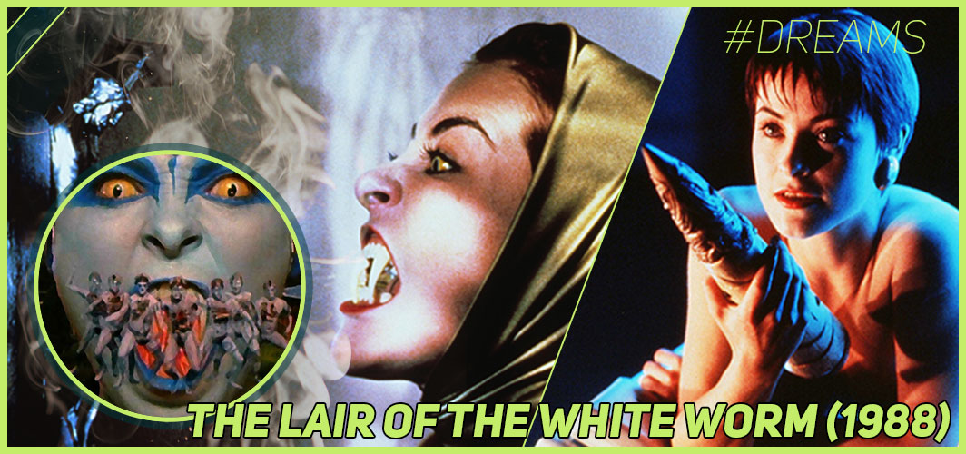 The Lair of the White Worm (1988) - 20 of the Most Terrifying Horror Movie Dream Sequences - Horror Land