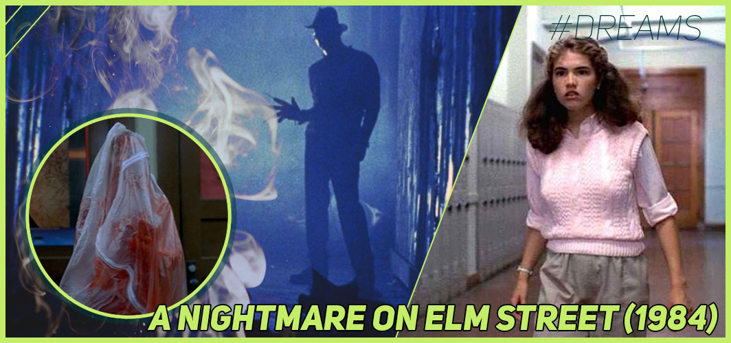 A Nightmare On Elm Street (1984) - 20 of the Most Terrifying Horror Movie Dream Sequences - Horror Land