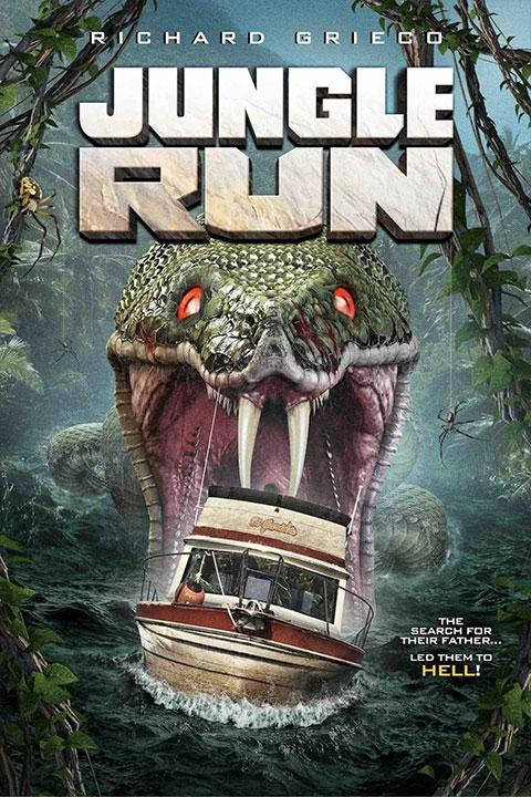 Jungle Run (2021) - Official Poster - Horror Land