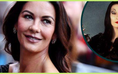 Catherine Zeta-Jones is Morticia Addams for 'Wednesday'