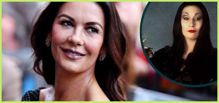 Catherine Zeta-Jones is Morticia Addams for 'Wednesday' - Horror News - Horror Land