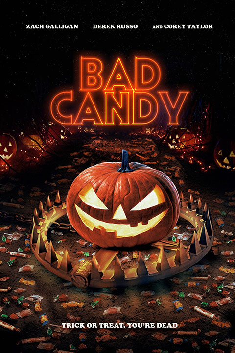 Bad Candy (2021) - Official Poster - Horror Land