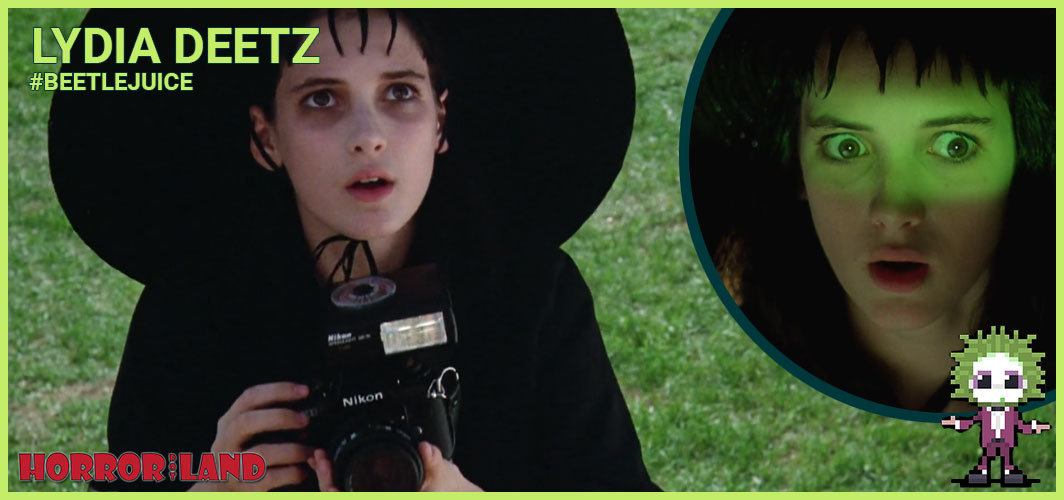 Lydia Deetz (Winona Ryder) - The 15 Best Characters from Beetlejuice