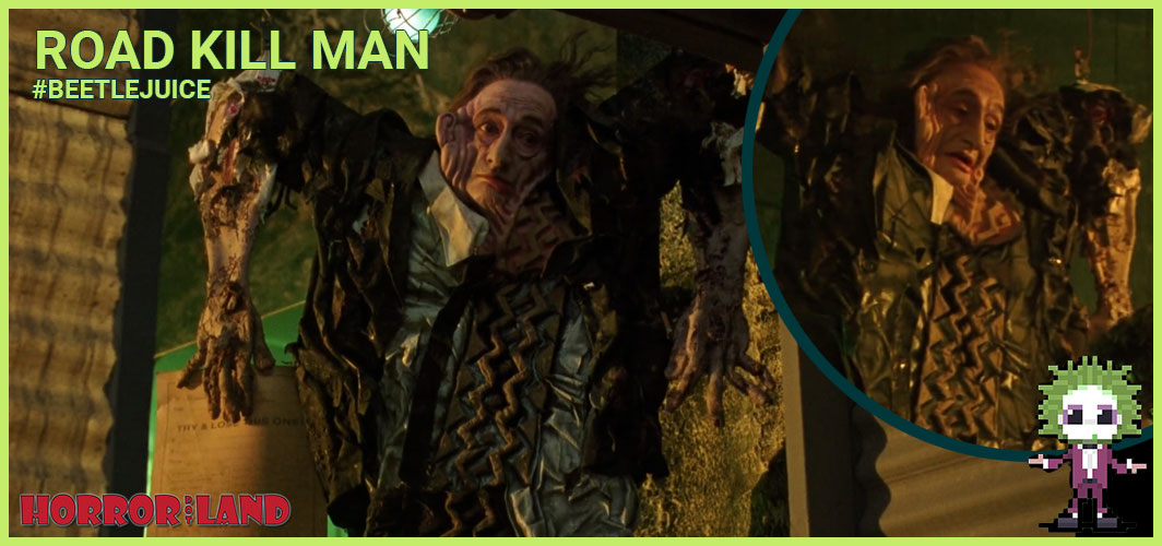 Road Kill Man (Carmen Filpi) - The 15 Best Characters from Beetlejuice