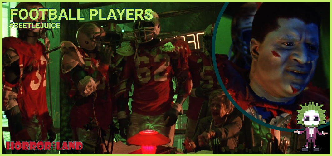 Football Players - The 15 Best Characters from Beetlejuice