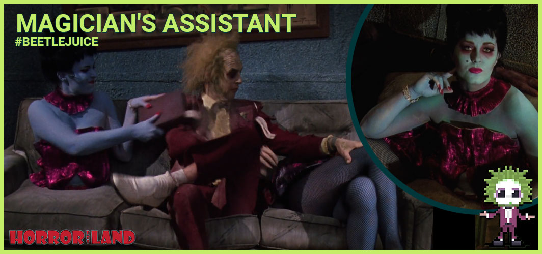 Magician's Assistant - The 15 Best Characters from Beetlejuice