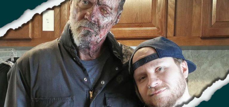 'Halloween Kills' BTS Photo Shows Michael Myers Burned Face - Horror News - Horror Land