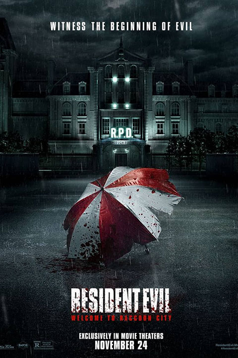 Resident Evil : Welcome to Raccoon City (2021) - Official Poster - Horror Land